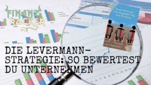 Levermann-Strategie - Lupe zeigt auf Aktien Charts und Susan Levermann Buch