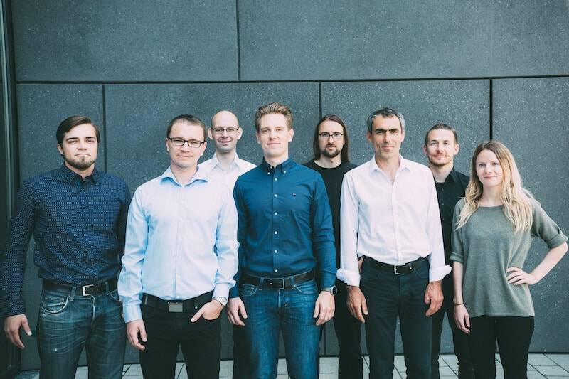 Das Team vom Finanz-o-Mat mit Stephan Sachse (2. v.l.)