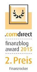 LOGO comdirect Finanzblog Award CMYK offen 2015