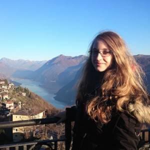 Ex-Studentin Jenny in Lugano