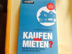 Gerd Kommer - Kaufen oder Mieten