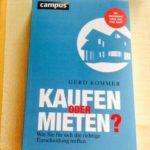 Review: Kaufen oder Mieten? von Gerd Kommer