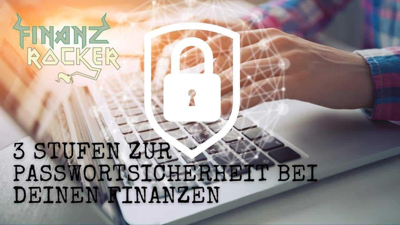 Passwortsicherheit Finanzen Computer