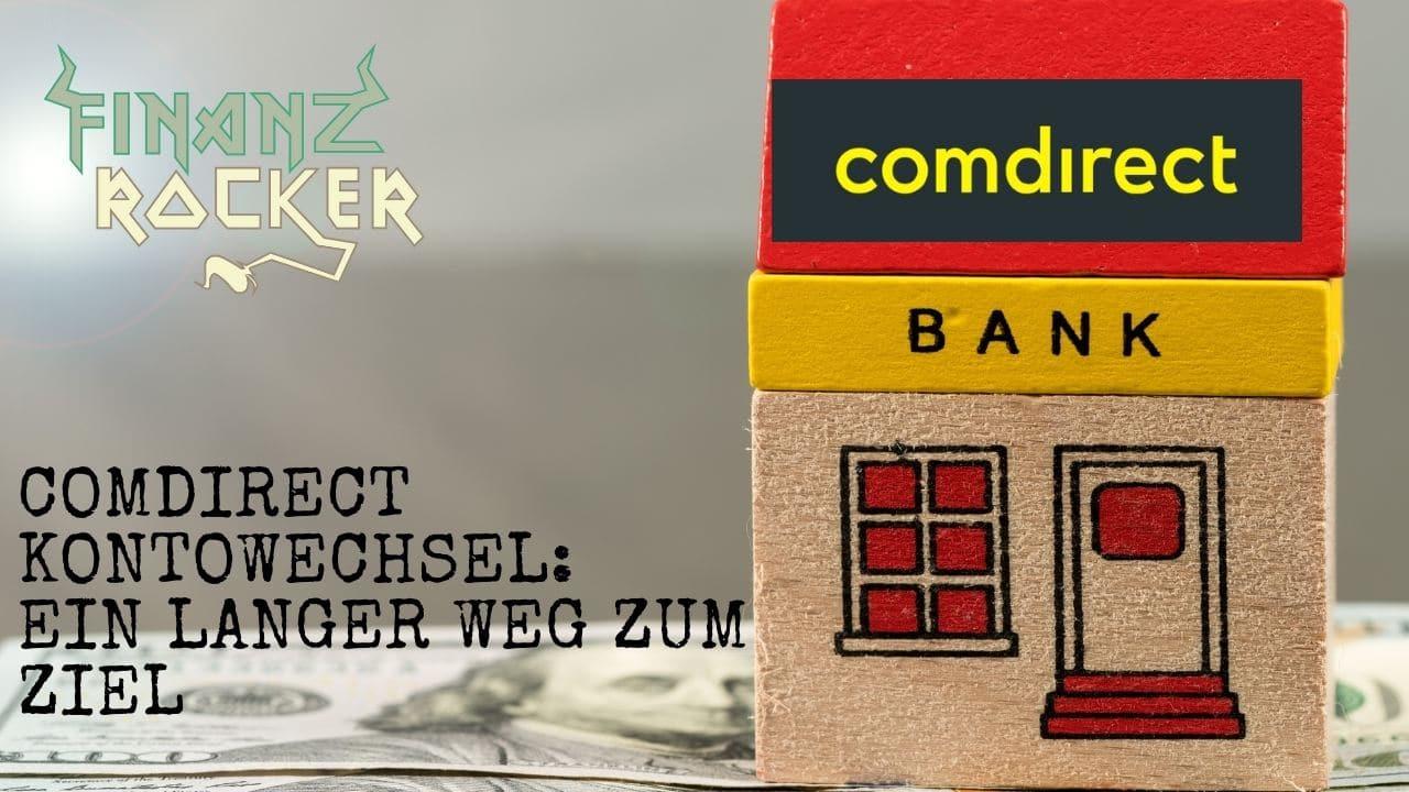 comdirect Kontowechsel - Bild von Haus auf Geldschein