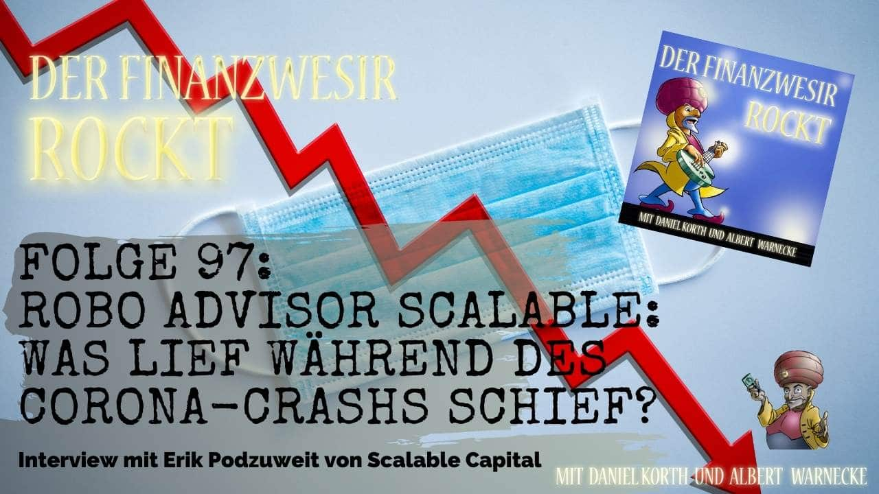 Scalable Capital Corona Crash Performance
