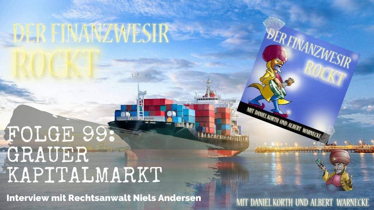 Containerschiff Grauer Kapitalmarkt Niels Andersen
