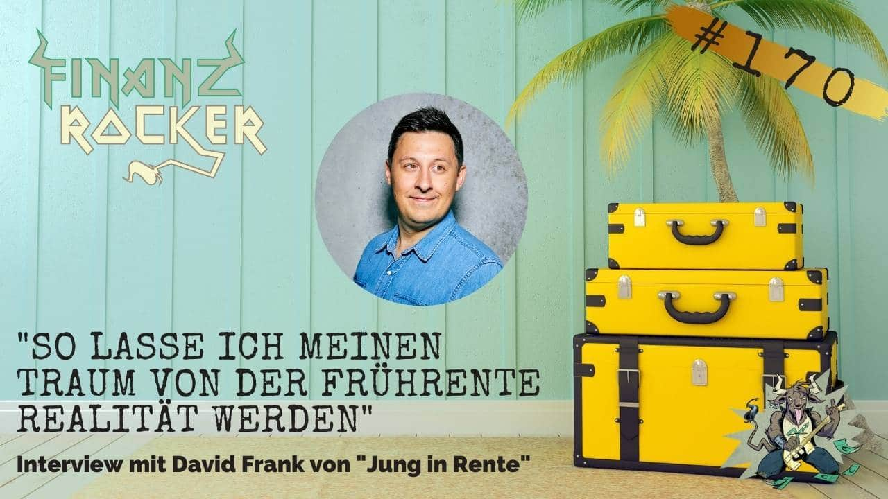 Jung in Rente David Frank Reise Koffer