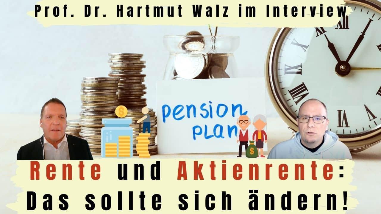 Aktienrente Rente Titelbild