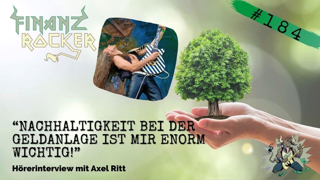 Axel Ritt Grave Digger Nachhaltigkeit
