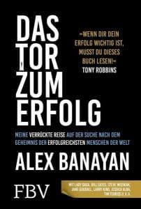 Das Tor zum Erfolg Alex Banayan Buchcover