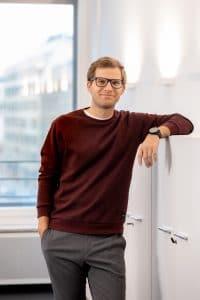 Portrait Nils-Hendrik Höcker Bux Embedded Finance